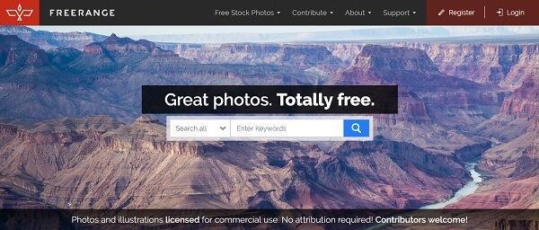 Free Range Stock официальный сайт