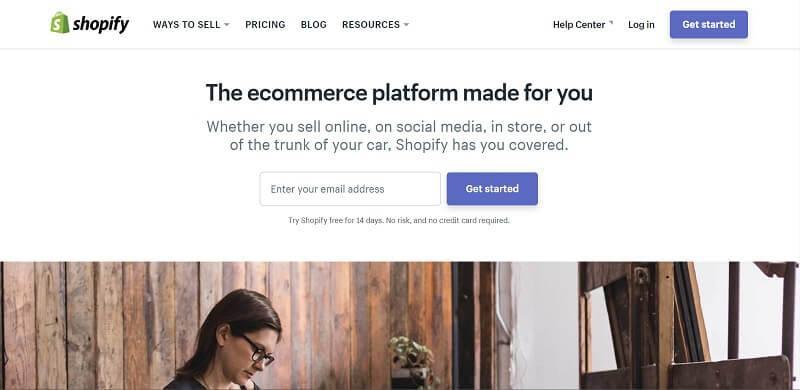 Shopify официальный сайт