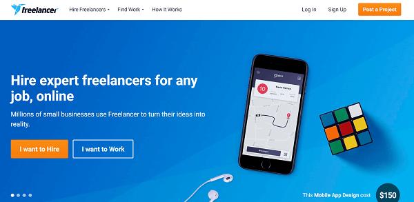 Биржа freelancer.com